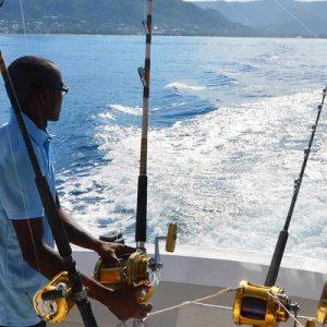 Big sport fishing in Mauritius