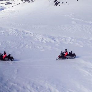 iceland south coast snowmobile tour