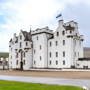 people exploring blair atholl castle