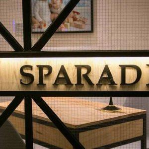 sparadise signage