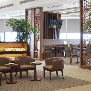 a lounge in Hanoi Noi Bai International Airport