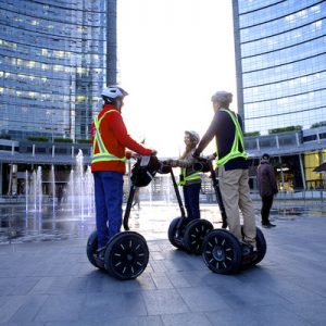 segway riders in Milan