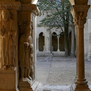 a cloister in Arlse