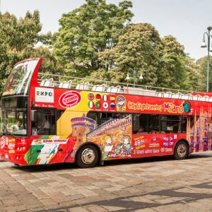 sightseeing bus tour milan