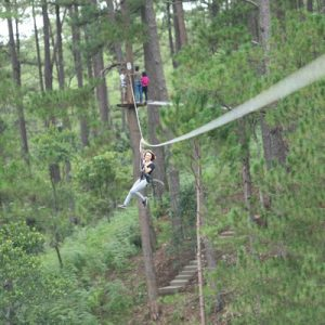 High Rope Course Adventure in Da Lat