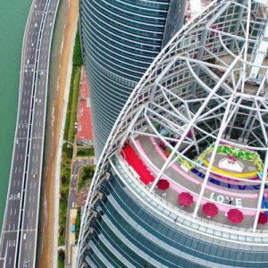 Shimao Straits Tower Sightseeing Hall Ticket