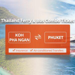 Lomprayah One Way Ferry Ticket between Phuket and Koh Phangan Thailand