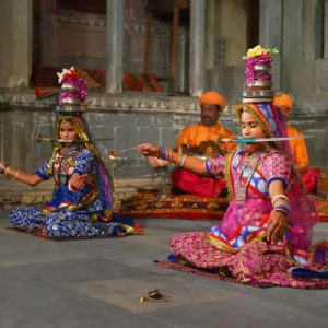 dancers in Bagore Ki Haveli
