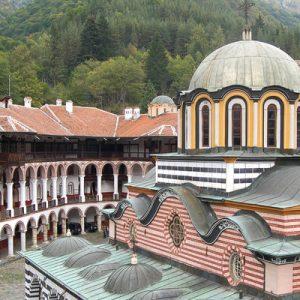 roof of rila monastery