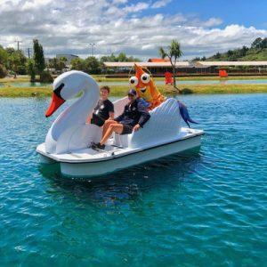 kids pedal boating