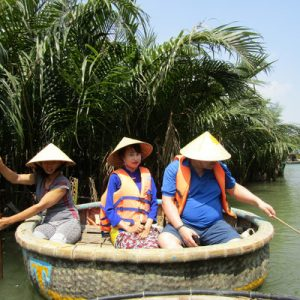 Cam Kim Village, Kim Bong Wood Village and Coconut Forest Countryside Tour with Aodai Rider
