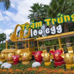 100 egg theme park