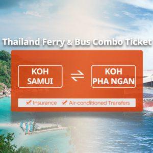 Lomprayah One Way Ferry Ticket between Koh Samui (Nathon Pier/Mae Nam Pier) and Koh Phangan Thailand