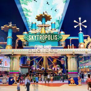 Skytropolis facade