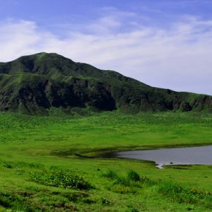 view of mount aso