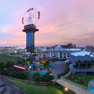 wonderla hyderabad view from the top
