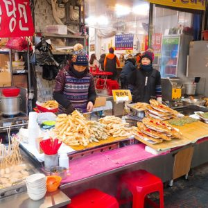 nampo and bupyeong market night tour in busan