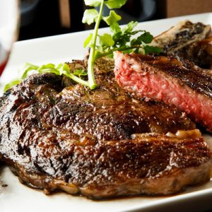 Steak House Pound (ステーキハウス 听) in Shijo Kawaharamachi - Premium Aged Wagyu Beef