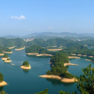 thousand islands of qiandao lake