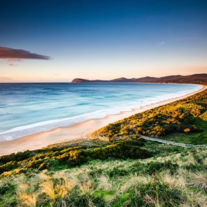 coastline of bruny island