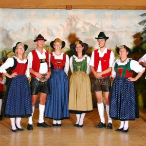 the Gundolf Family of Innsbruck, Austria on stage