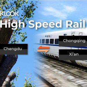 china high speed railway ticket chengdu