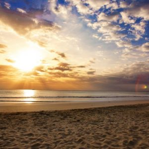 trincomalee sunset