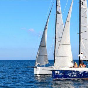 Keel Boat Sailing In Kenting
