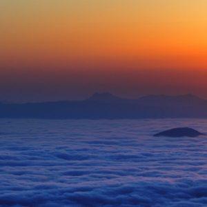 tsubetsu sea of cloud watching
