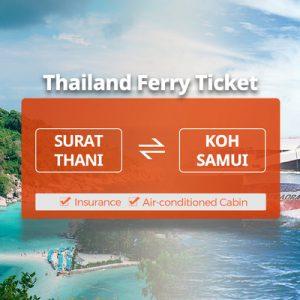 surat thani and koh samui ferry ticket