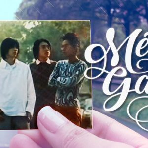 fan holding a screen shot of f4 from a scene on meteor garden