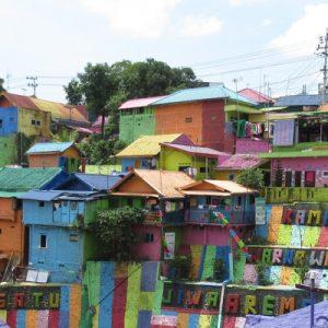 rainbow village in java