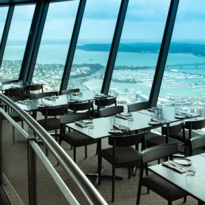 Orbit Revolving Restaurant at SKYCITY Auckland