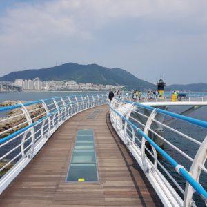 songdo skywalk busan tour