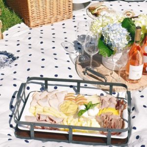 a picnic prepared by Mangia