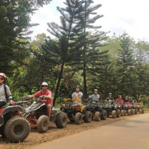 atv and tourists in rizal province
