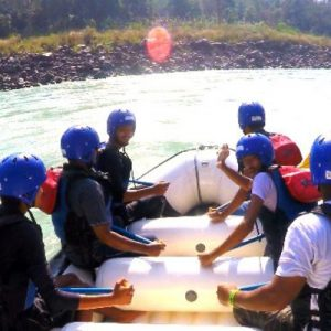 ganga rafting adventure