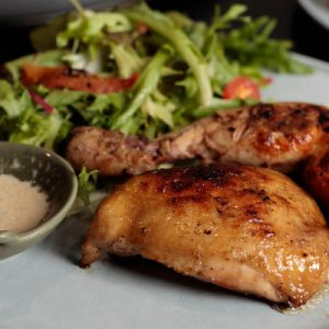 Charcoal Grilled Chicken at Homeground Grill