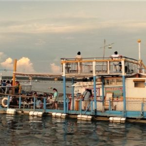 Dinner Experience on a Boat Restaurant in Penghu, Taiwan