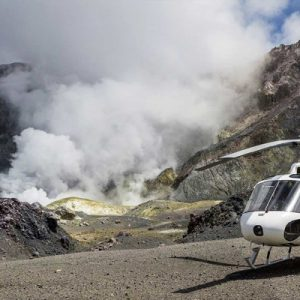 rotorua mount tarawera and white island marine volcano helicopter tour