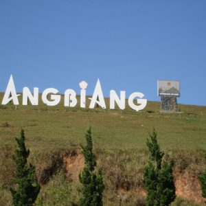 Lang Bian Mountain Panorama