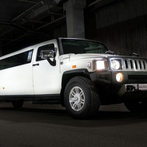 limousine in warsaw