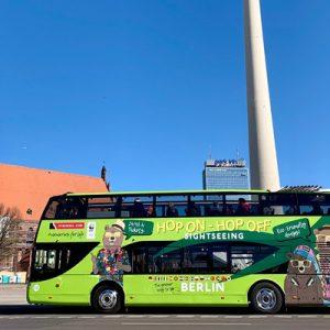 hop on hop off bus in berlin