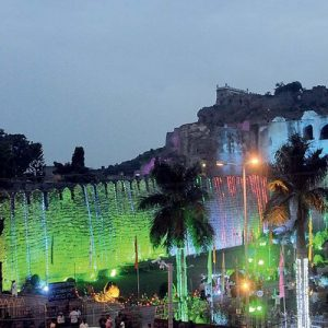 golconda fort light and sound show