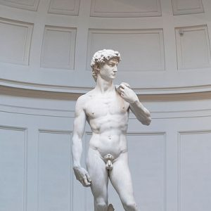 david statue in accademia gallery