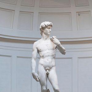 david statue in accademia gallery