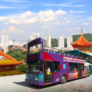 Penang Hop On Hop Off Double-Decker Bus Tour