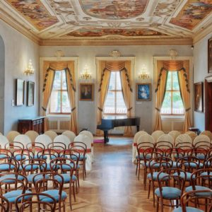 concert hall at Lobkowicz Palace