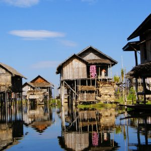 inle lake indein village
