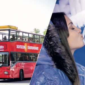 ice bar and hop on hop off bus in berlin